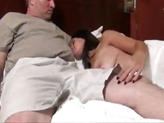 pornstar blowjob Step daughter Fucks NOT her dad