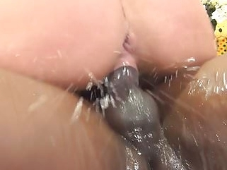 squirting top rated Squirting and screaming orgasm on a BBC