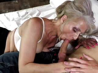mature hairy Hot mature mother fucked by young not her son