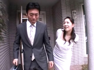 japanese asian Ayane Asakura - Married Woman Villein Front of the Spouse