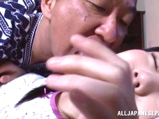 japanese asian Pretty Asian teen with small tits Marin Aono smacked hard