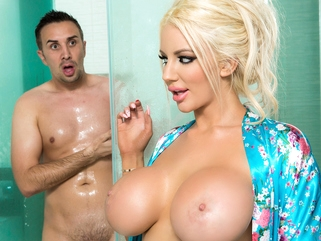 big tits big ass Nicolette Shea & Keiran Lee in Dont Bring Your Sister Around Me - Brazzers