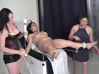 big tits bdsm Bound at the doctor's dungeon