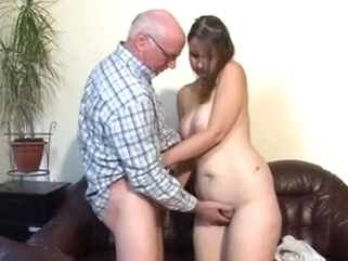 german bbw Chubby german girl fucked by older man