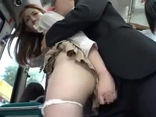 big tits asian Groped bus stories 1