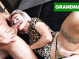 hardcore blowjob Sluttiest Granny Craving for Creampie