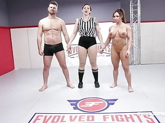 fingering blowjob Brandi Mae rough wrestling sex fight vs Jack Friday